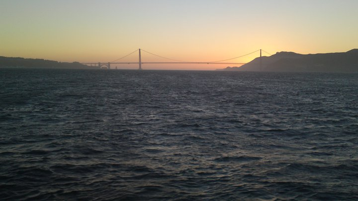 A San Francisco sunset