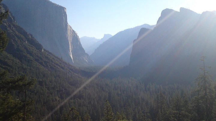 Early Morning at Tunnel View