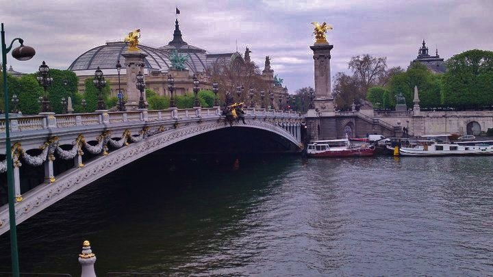 Pont De Alexandre III, Paris, France