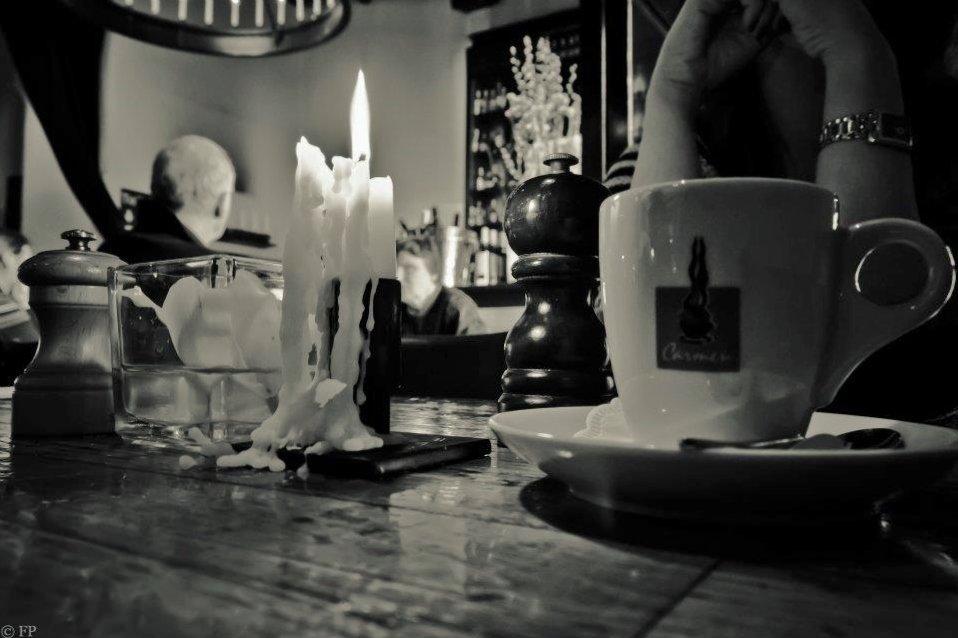 Cafe in de Waag, Amsterdam