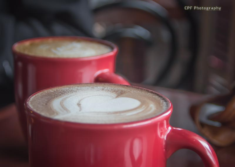 Love Coffee? Photo taken by CPF Photography at Red Cup Coffee House