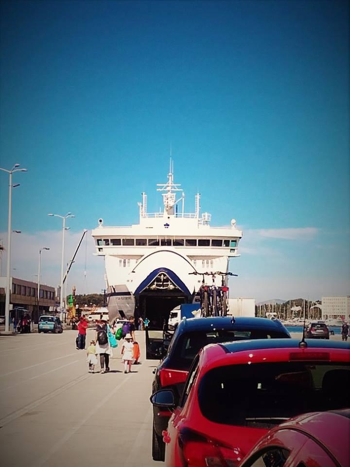 ferry split to Vela Luka Korcula