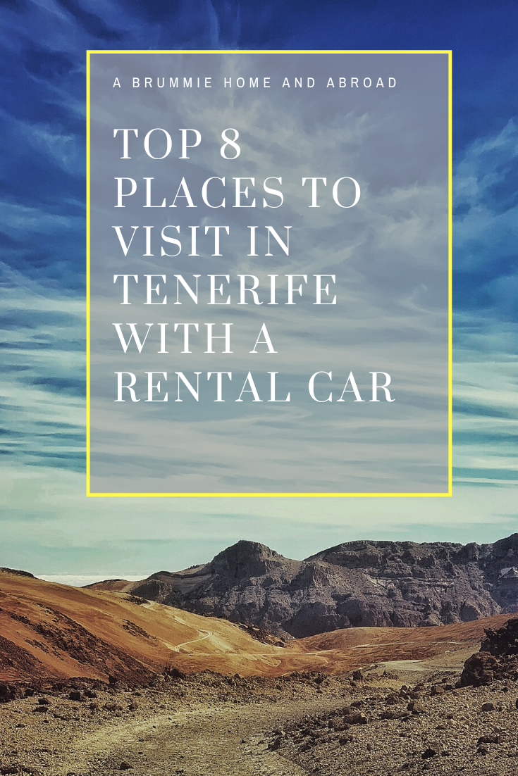 BLOG POST: Top 8 Places to Visit in Tenerife With a Rental Car