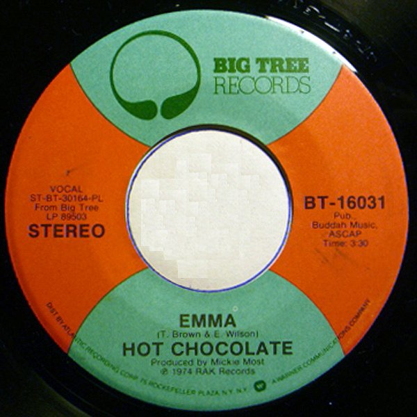 Emma by Hot Chocolate.