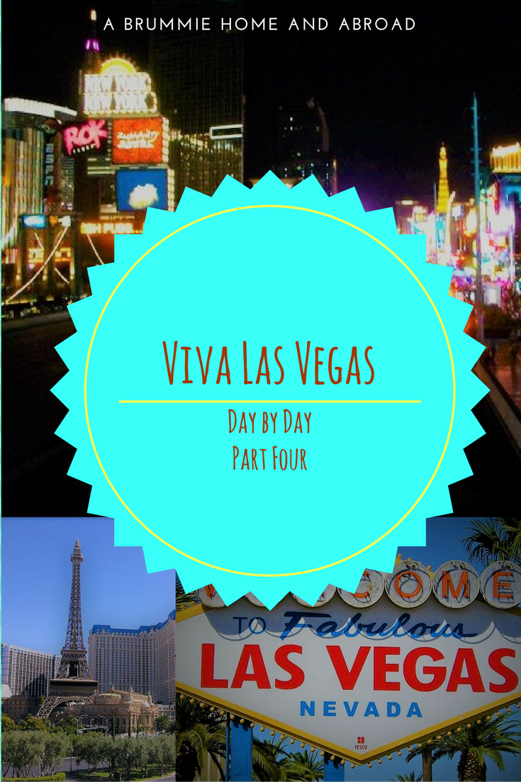In 2010 A Brummie Home and Abroad headed off to Las Vegas for the very first time. This is a day by day account of Las Vegas for beginners
