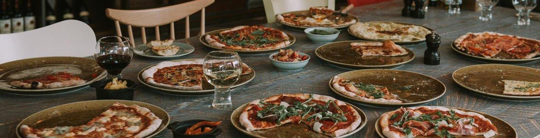 Pizza at Bardolinos, The Cube, Birmingham