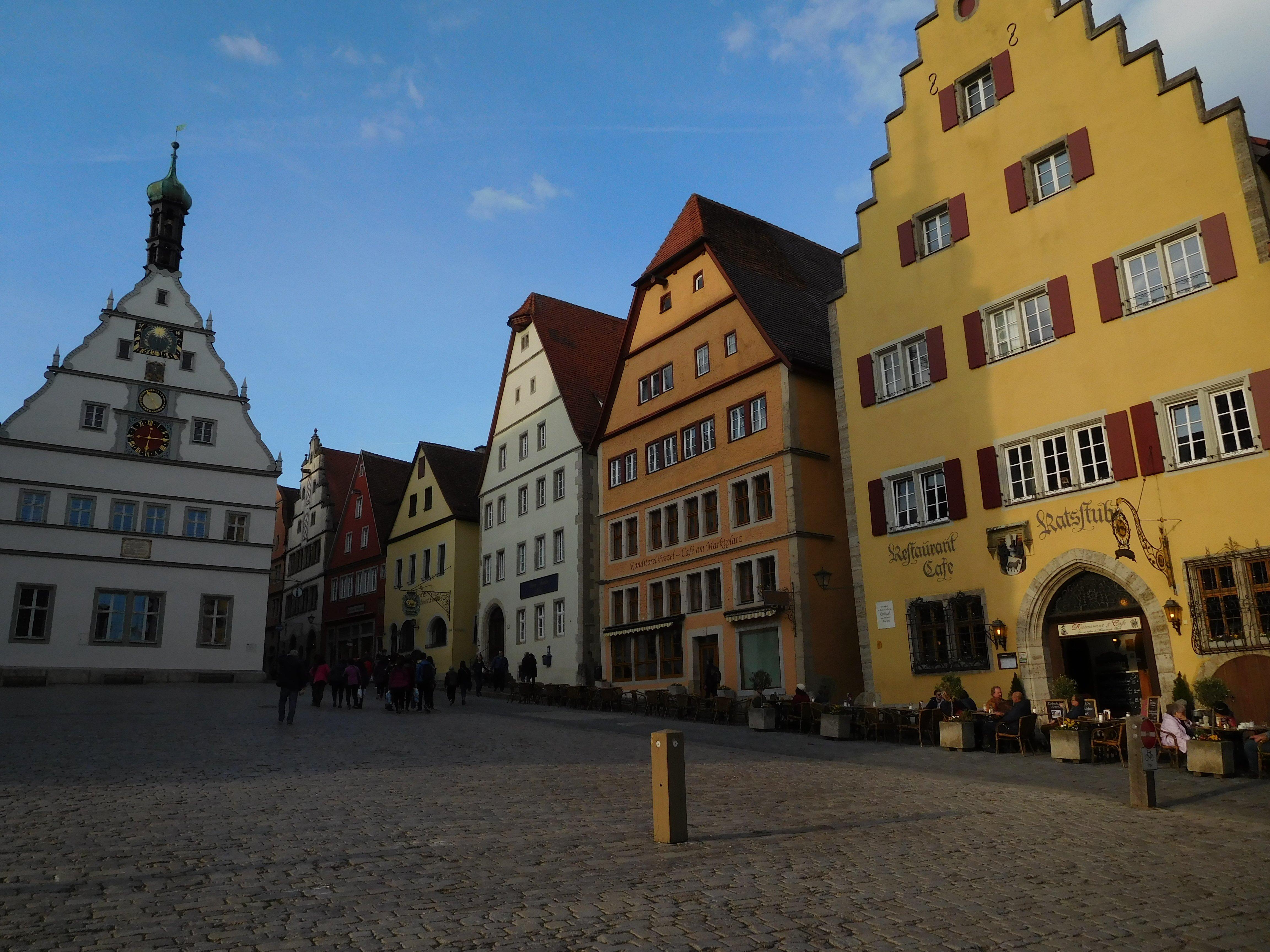 Marktplatz, Rothenburg