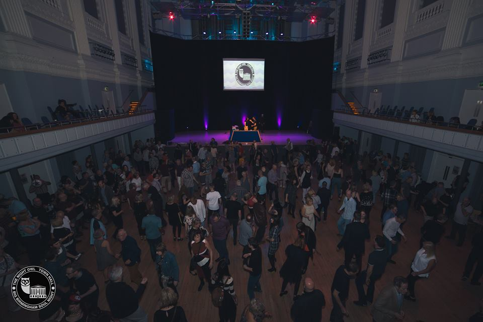 The Big Birmingham Soul Night at Birmingham Town Hall 15th April 2017