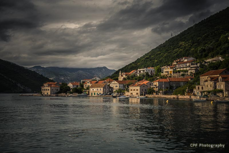 Perast in Montenegro - My Travel Menu Short Haul Starter
