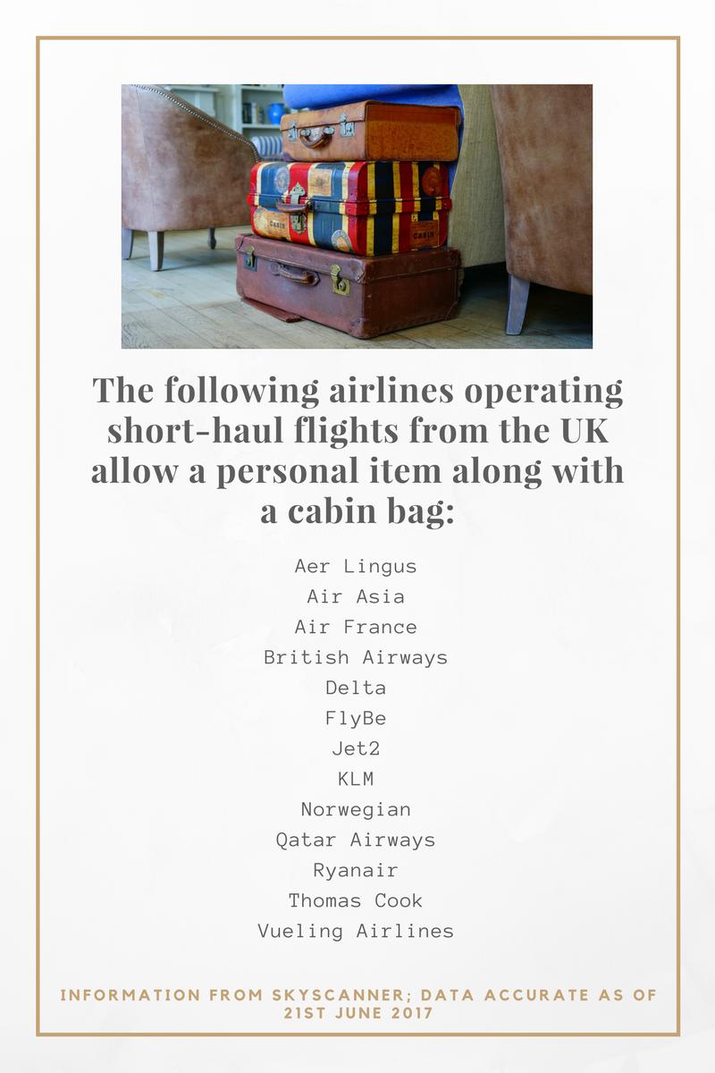 Cabin Bag Allowance