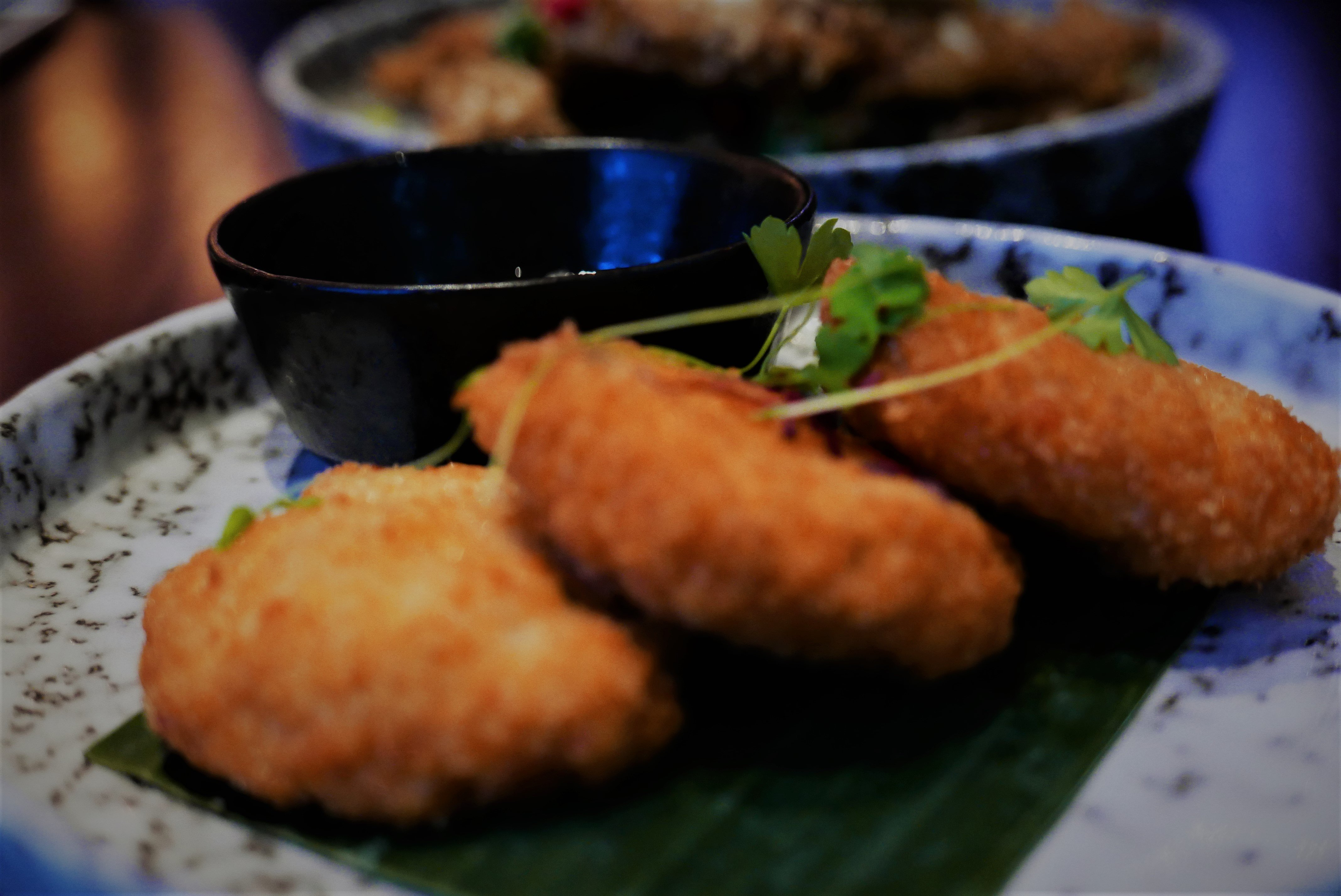 Thai Crab Cakes at Siamais Birmingham