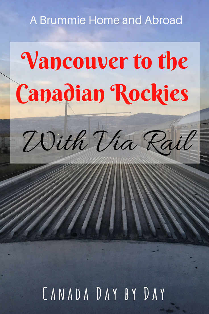 In October we travelled to Jasper National Park from Vancouver with Via Rail