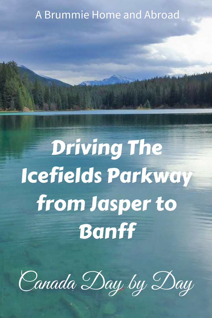 Driving the Icefields Parkway from Jasper to Banff