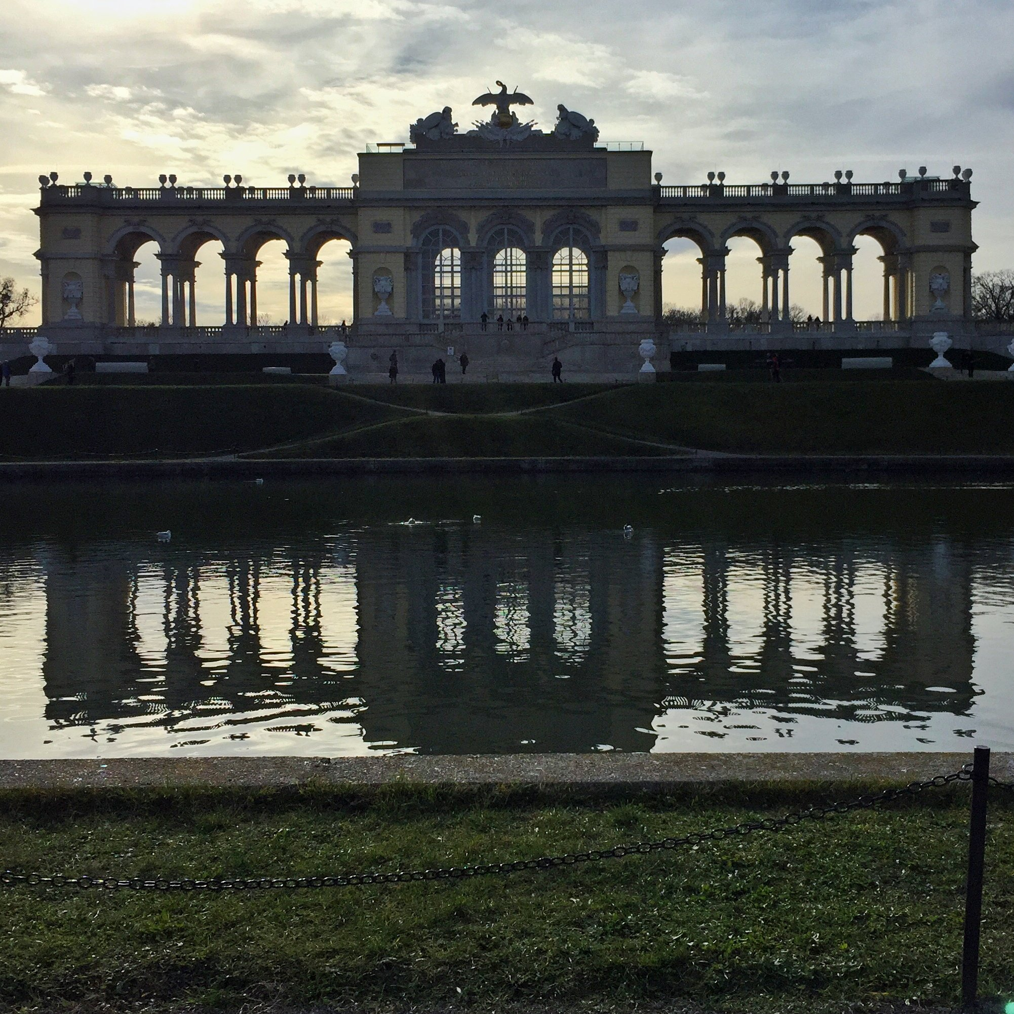 The Gloriette at Schonbrunn Palace, Vienna