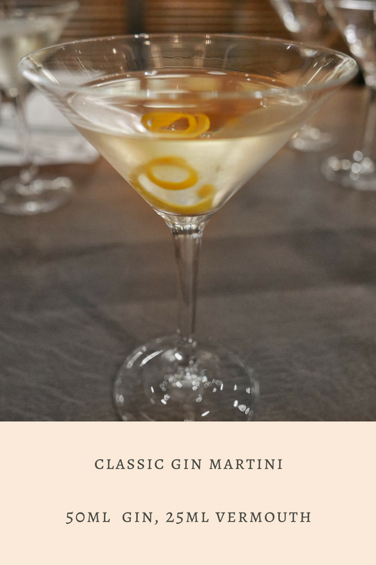 Cocktail Masterclass at Tom's Kitchen: The Classic Gin Martini