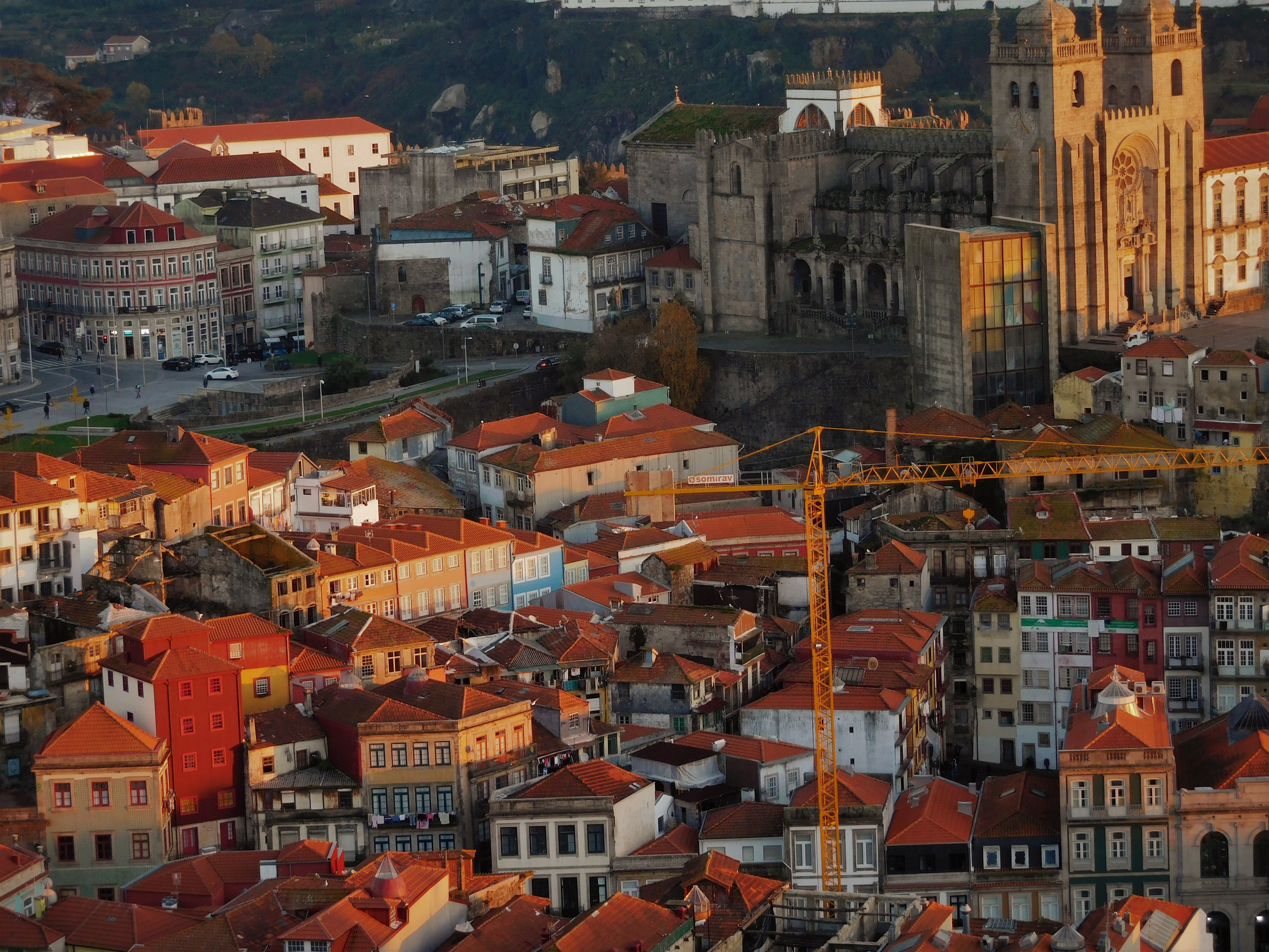 48 Hours in Porto: City views at sunset from Torre De Cleros