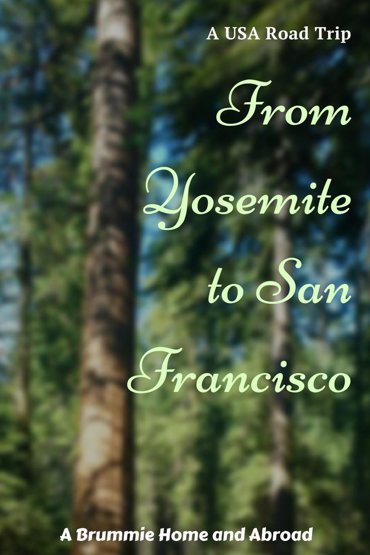From Yosemite to San Francisco - a USA Road Trip (2)