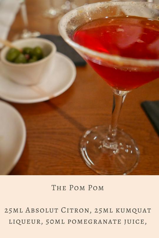 Cocktail Masterclass at Tom's Kitchen: The Pom Pom