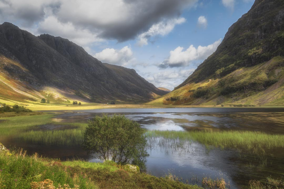 Glencoe, Scottish Highlands, lochs, mountains