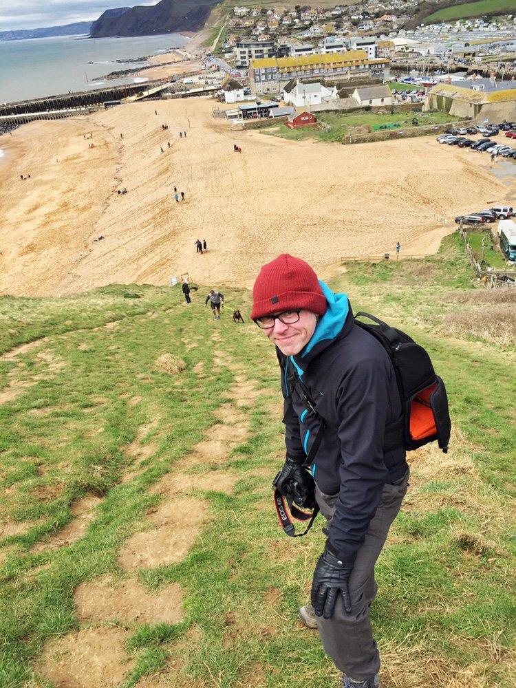 West Bay: Walking the South West Coastal Path walk