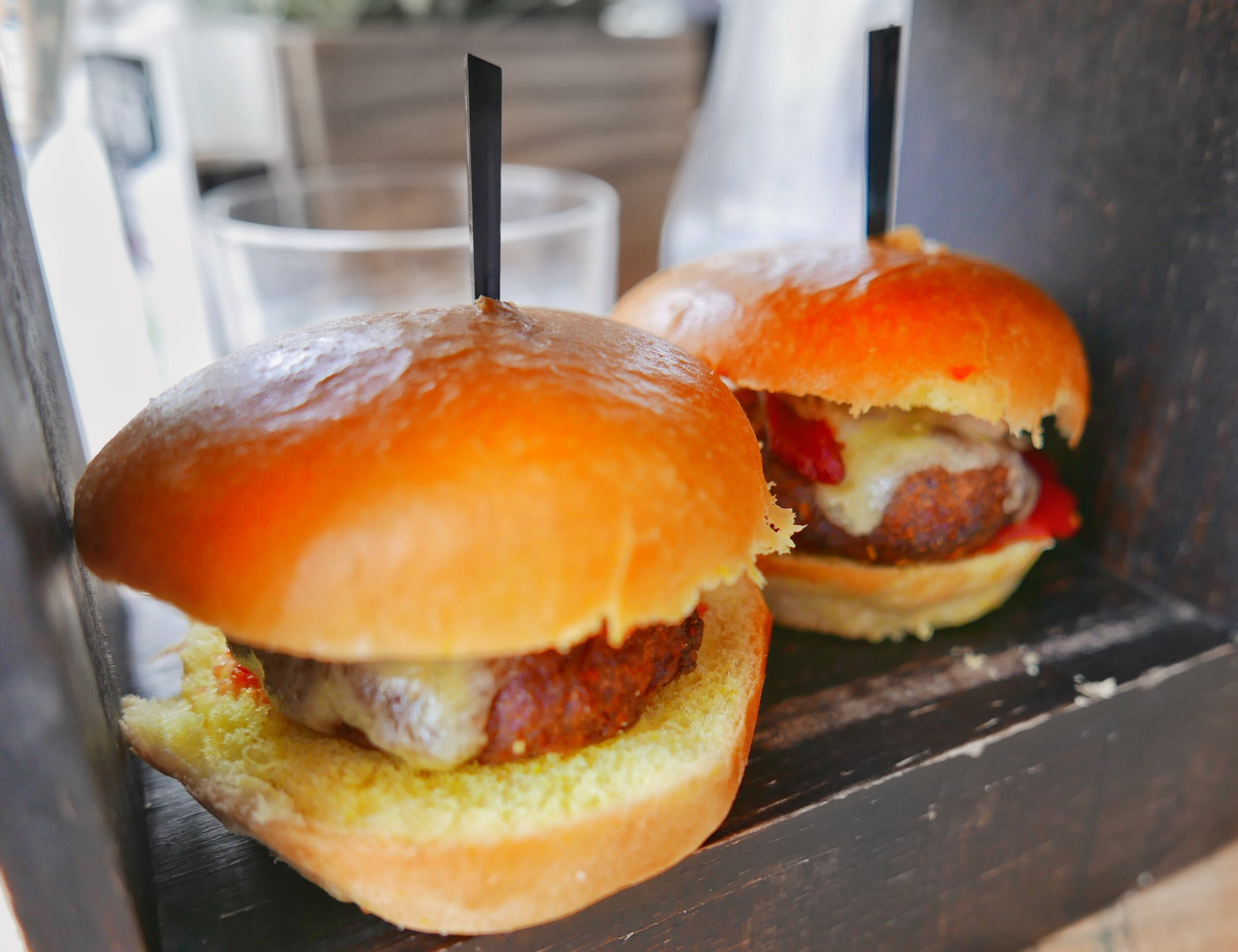 Mini Sliders: Afternoon Tea at Bardolino Birmingham