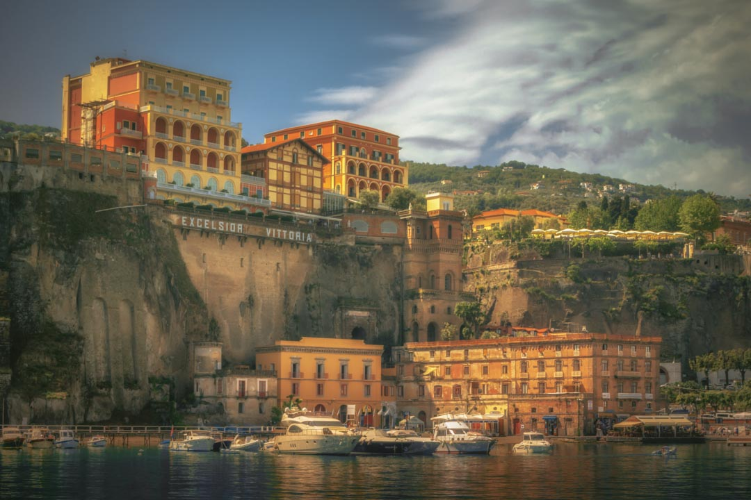 Sorrento from the harbourside by CPF Photography