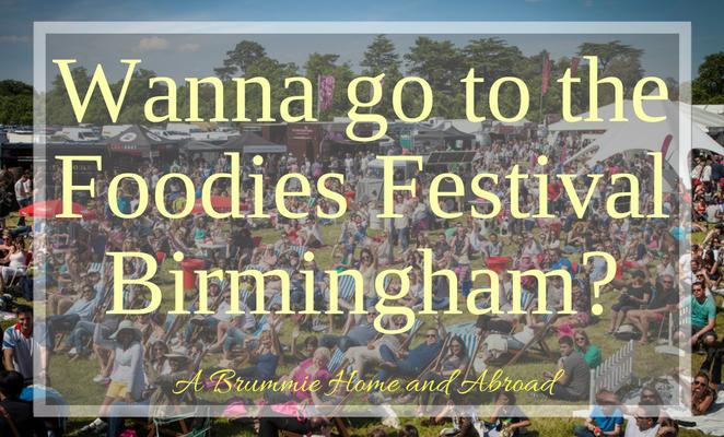Foodies Festival Birmingham, food and drink