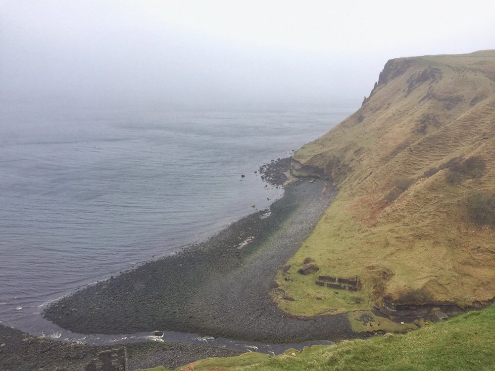 Coastline of the Isle of Skye