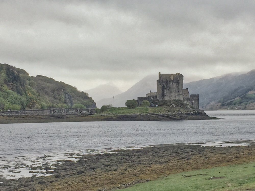 Eilean Donan castle in the Scottish Highlands