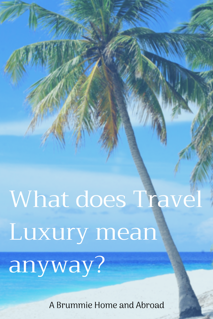 This month's #'TravelLinkUp is chatting about all things luxurious and opulent. Not the way that A Brummie Home and Abroad usually travels...