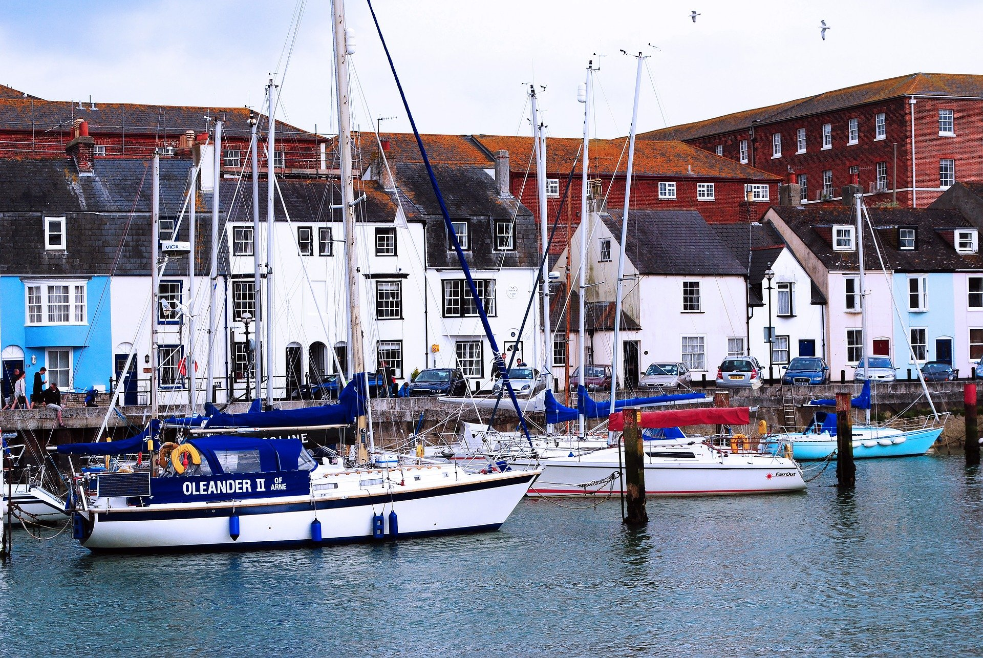 Boats at Weymouth Quayside, Dorset