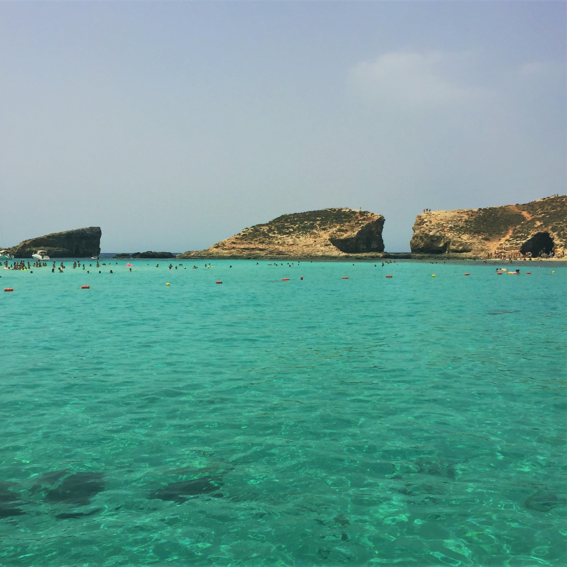 blue lagoon, comino, malta, crystal waters,