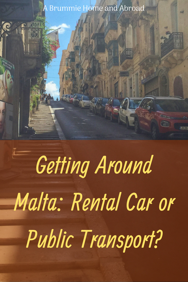 Pin: Getting Around Malta