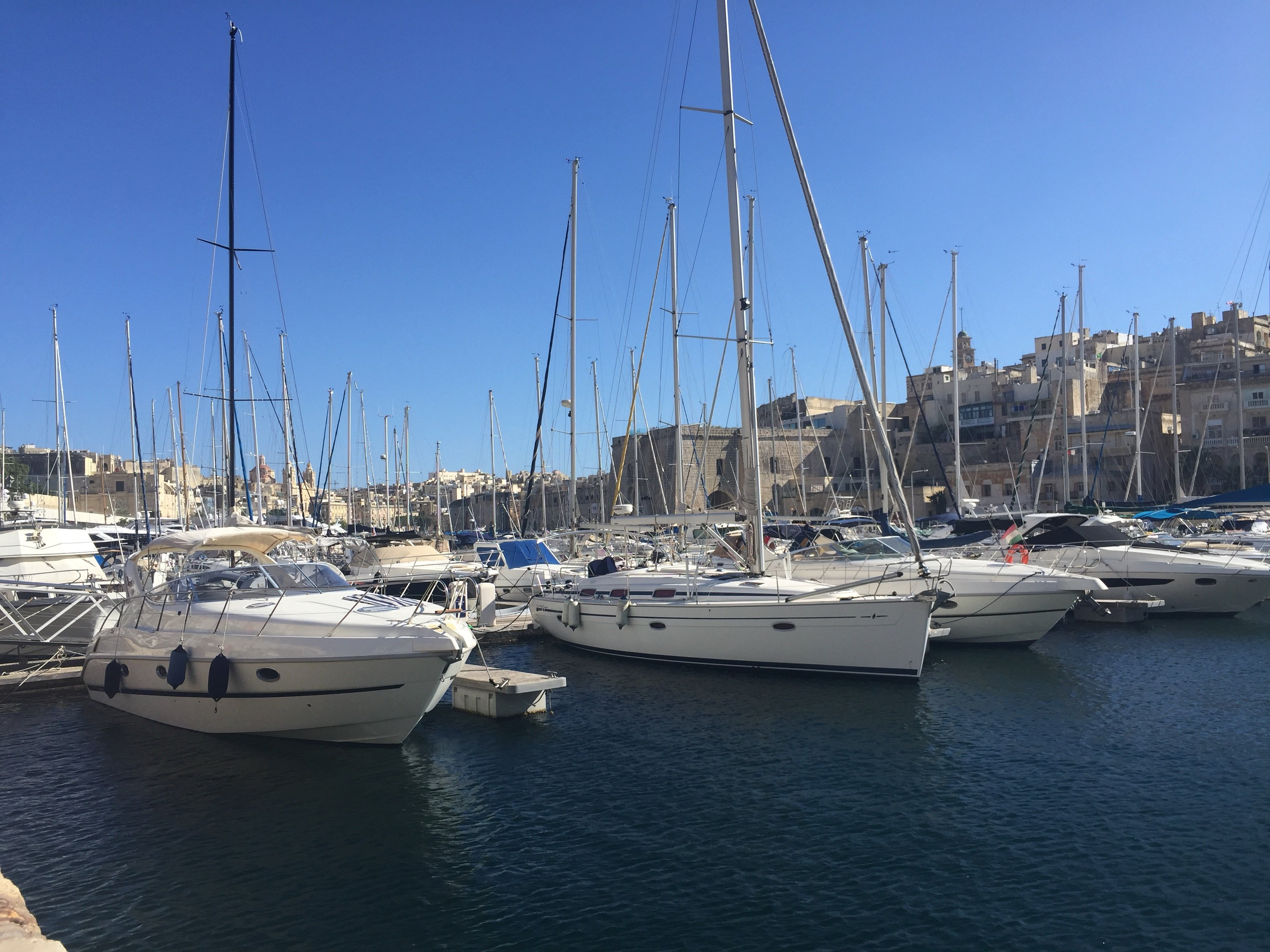 Boats. Marina. Harbour. Birgu. Valletta