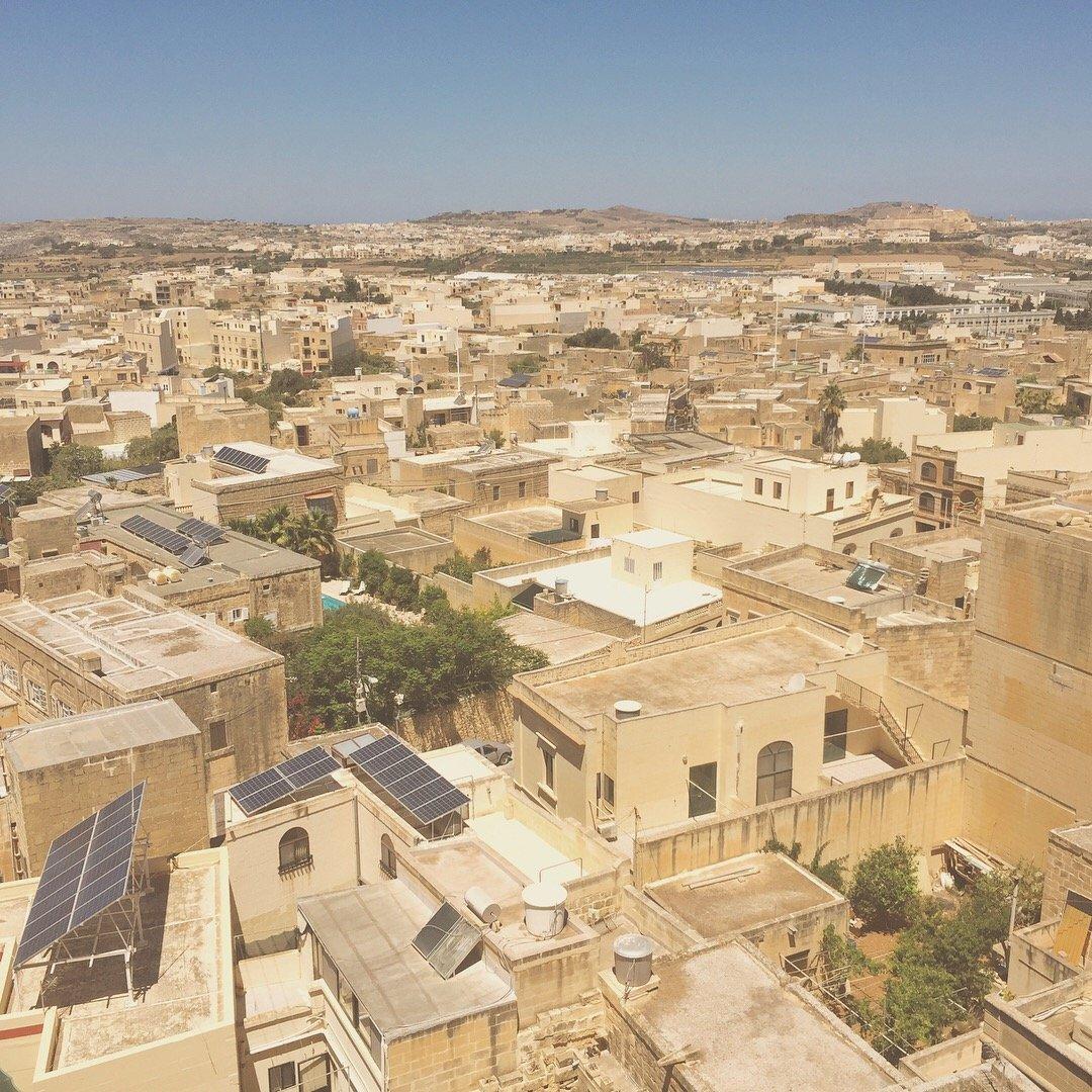 Rooftops of Gozo