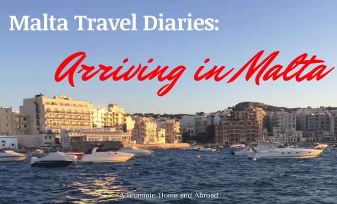 Travel Diaries_ Arriving in Malta