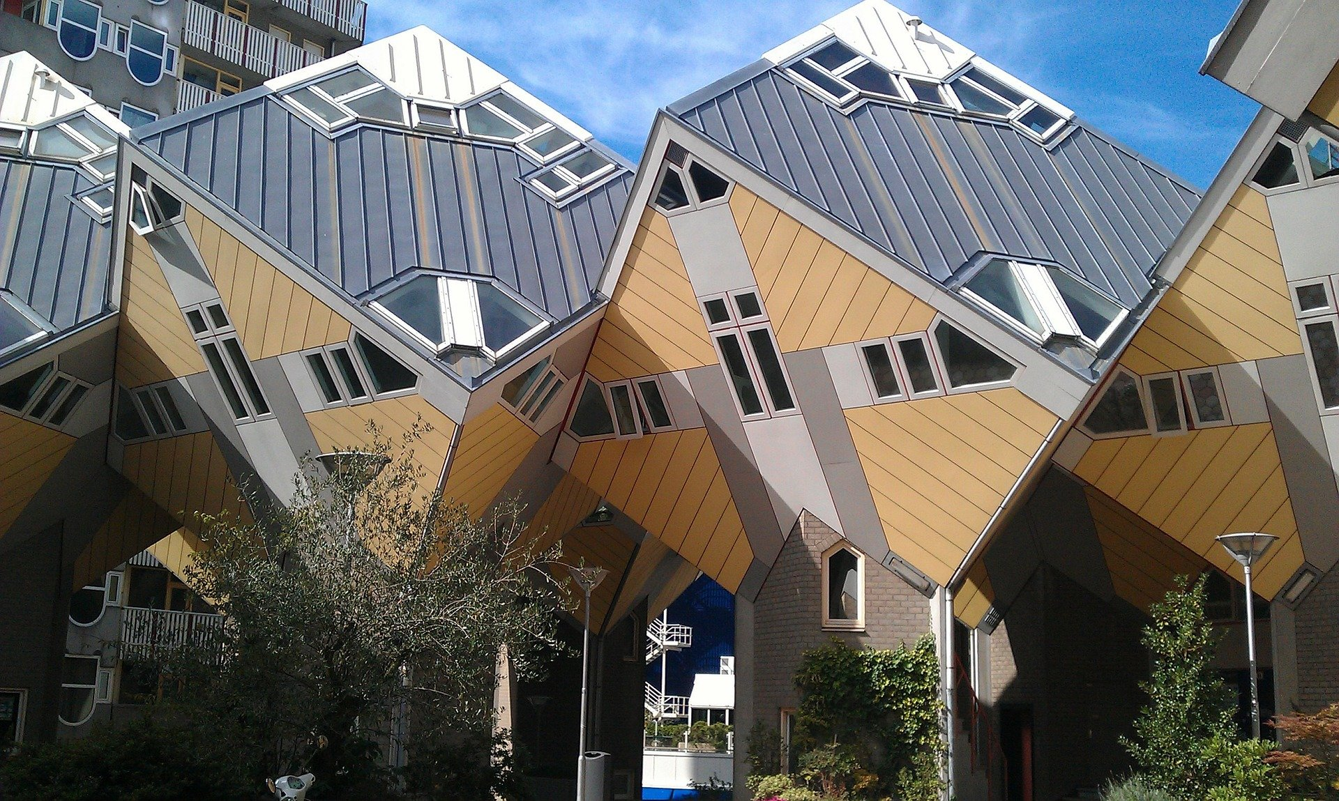 Visiting Rotterdam? Cube Houses, Rotterdam