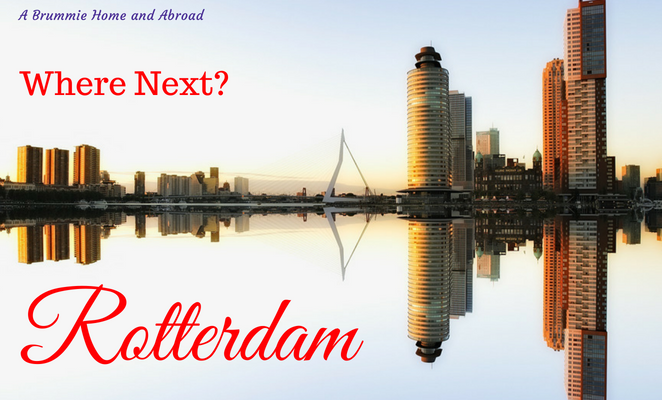 Visiting Rotterdam? We are! Rotterdam skyline
