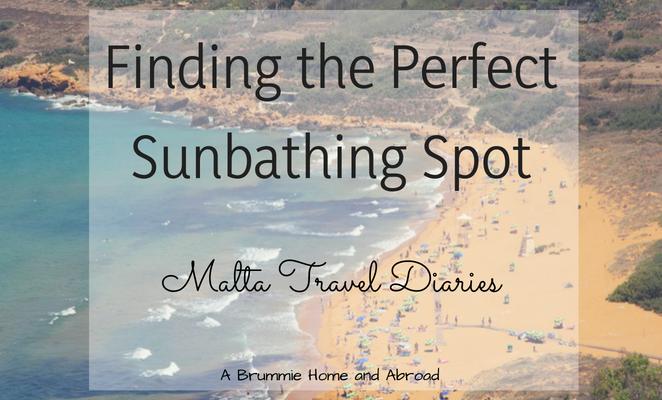 Malta beaches, perfect sunbathing spot in Malta
