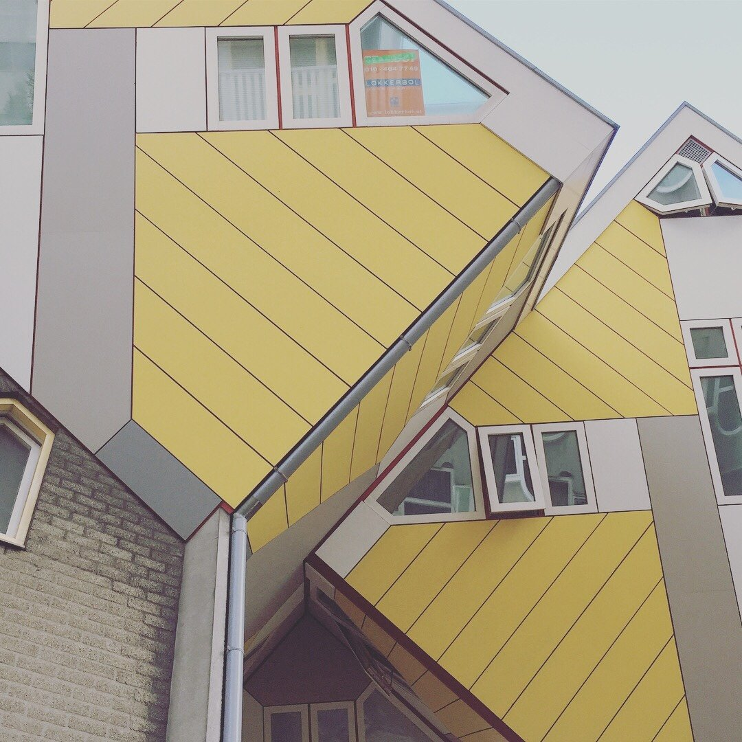 The Cube Houses, Rotterdam.