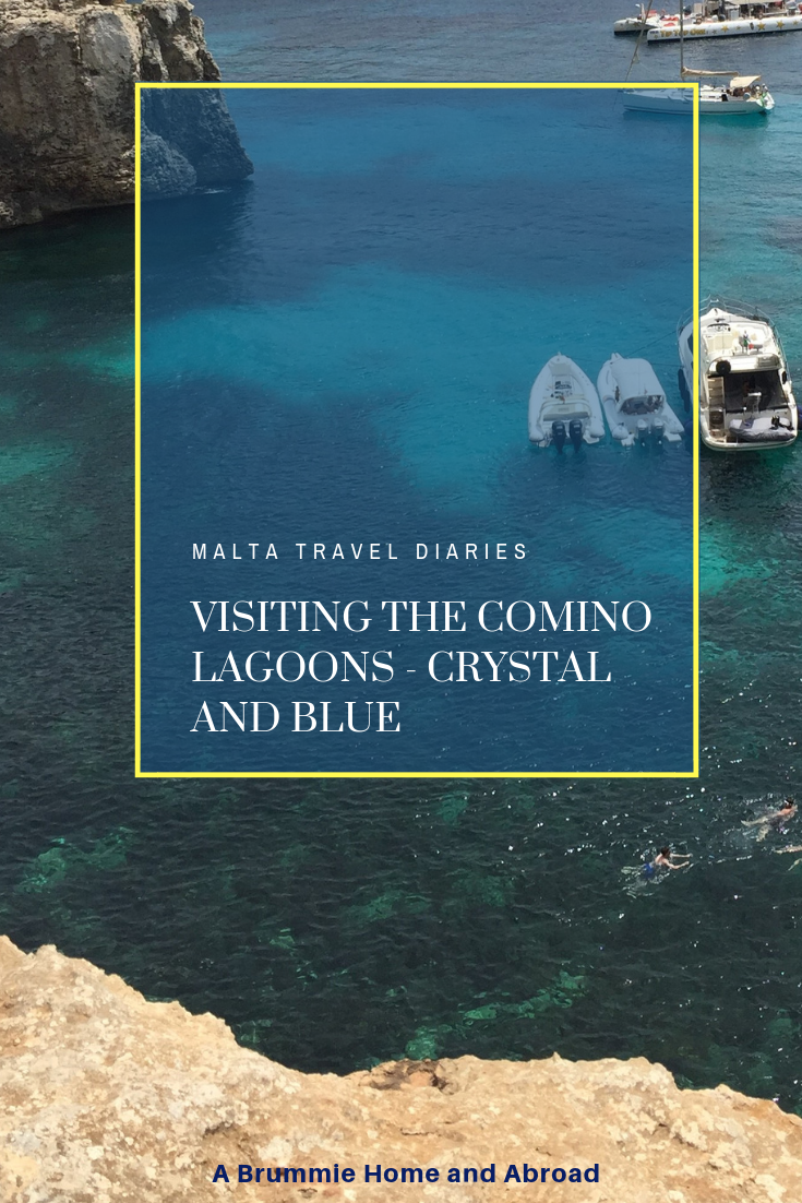 Malta Travel Diaries - Visiting the Lagoons (Blue & Crystal): On our final day in Malta we took a boat trip to the beautiful lagoons of Comino, a sparsely populated island between Malta and Gozo. Read on to find out why the Blue Lagoon is not entirely like its depicted in those Instagram pictures...