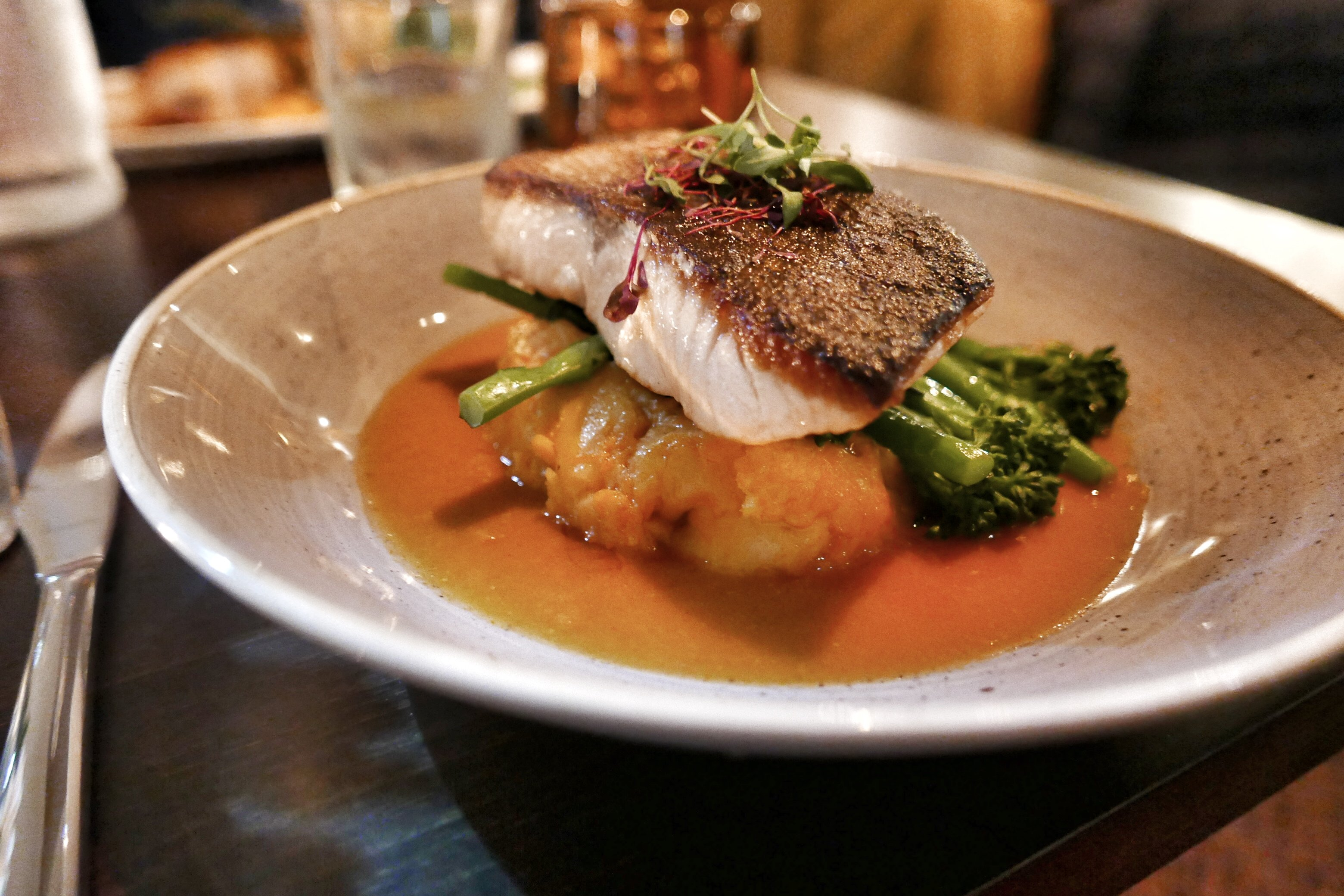 The Green House Pub, Sutton Coldfield: Seared salmon fillet