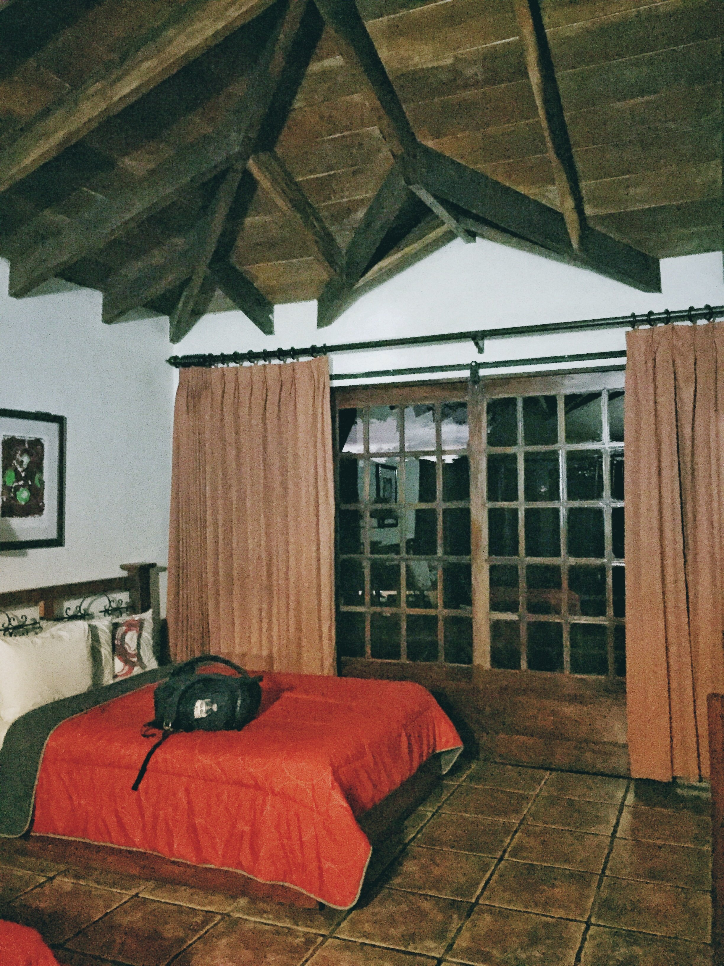 Our room at Borinquen Mountain Resort, Rincon De La Vieja, Costa Rica