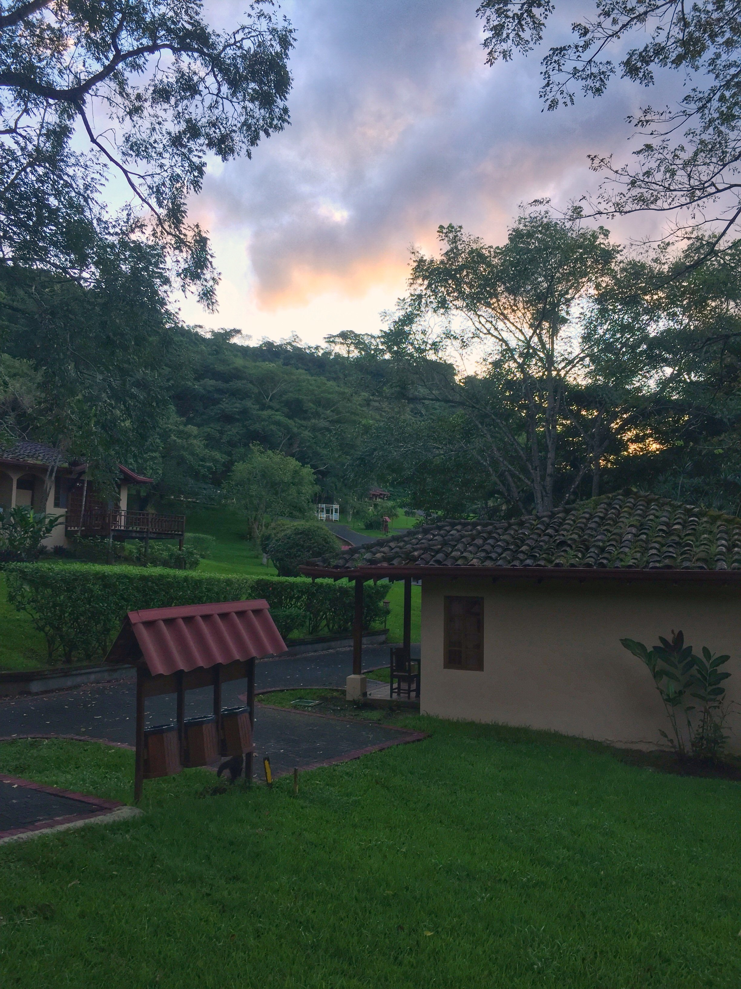 Sunrise at Borinquen Mountain Resort
