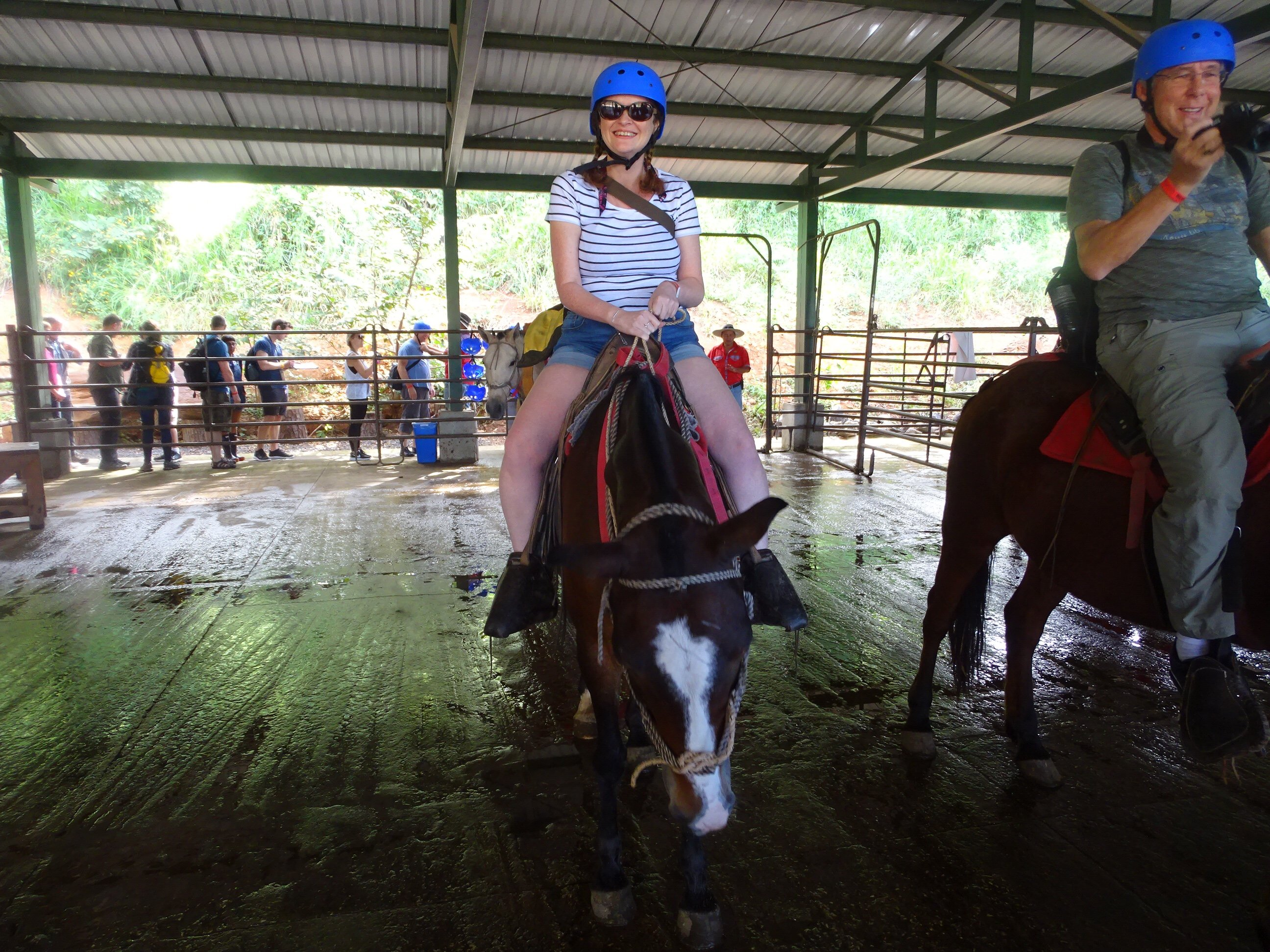 Horse Riding at Hacienda Guachipelin
