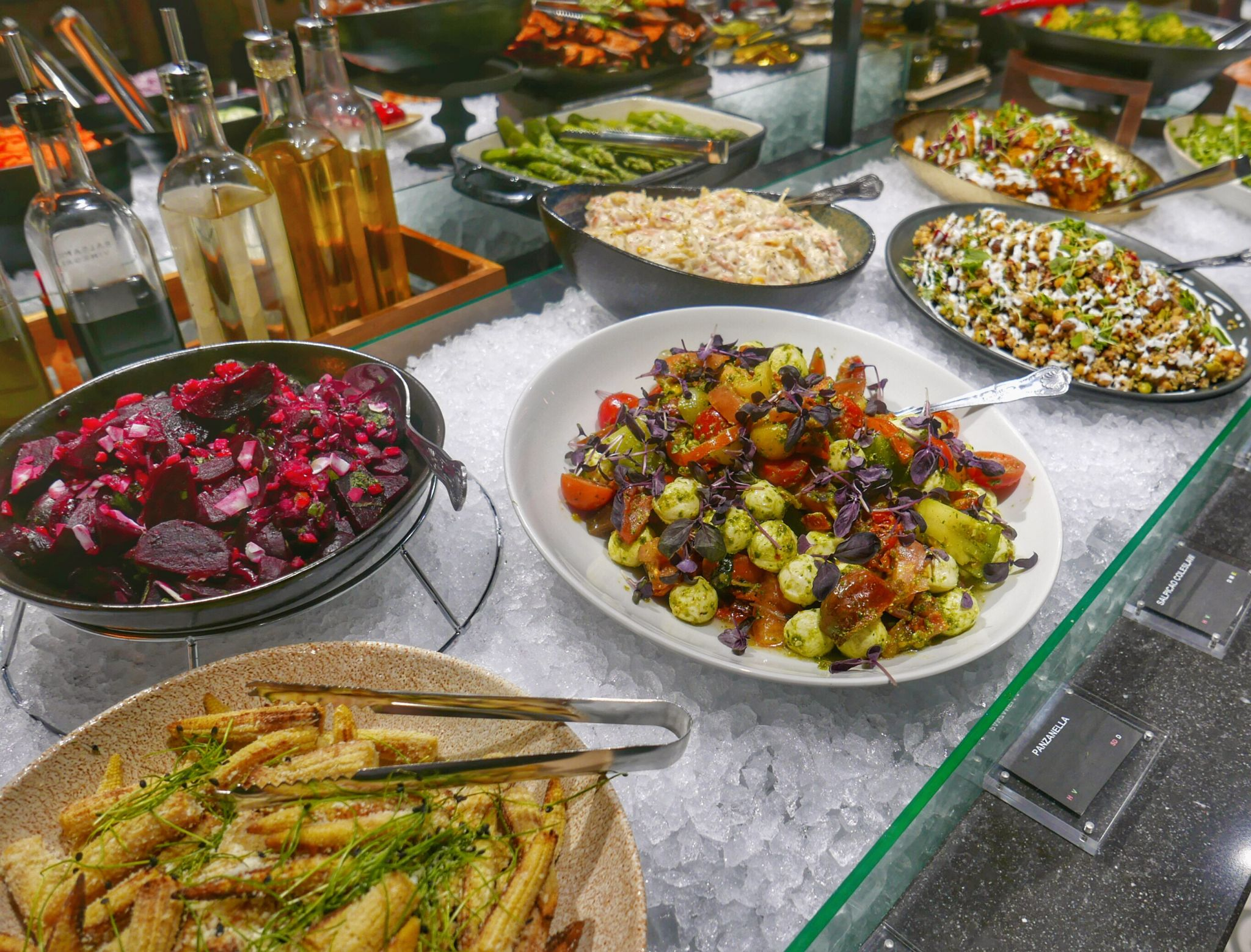 Side Orders and Salad Bar at Fazenda Birmingham. Planning on eating out in Birmingham? A Brummie Home and Abroad decided to spend January trying out new breakfast, lunch and dinner spots