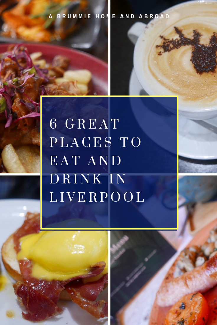 Planning a city break in Liverpool? Here are six suggestions of Great Places to Eat and Drink Liverpool! Includes tapas, street food, brunch and craft beer!
