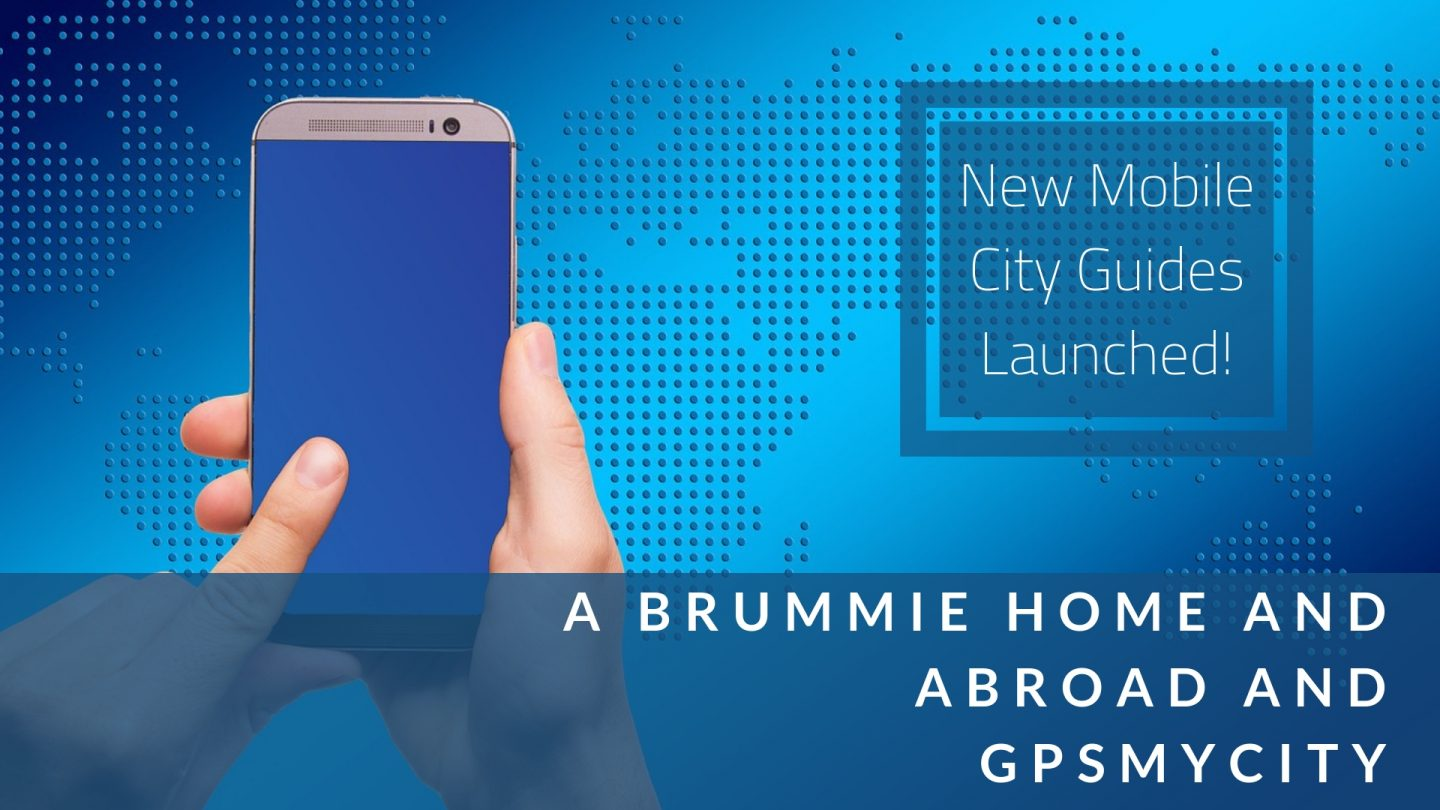 Feb 2019 Update - new city guides launched with GPSmyCity