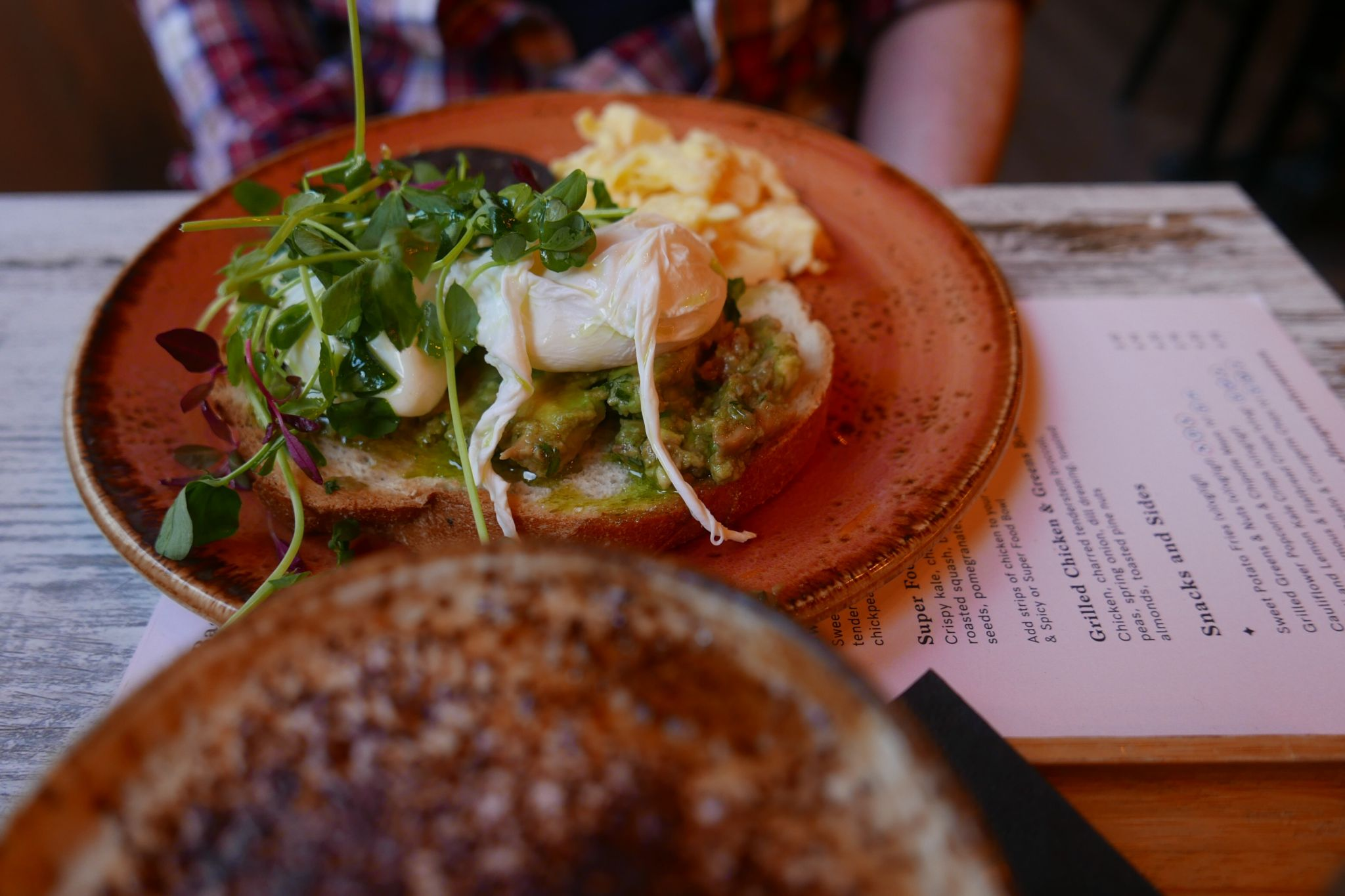 Where to Eat and Drink in Liverpool: Smashed avocado on toast at Love Thy Neighbour