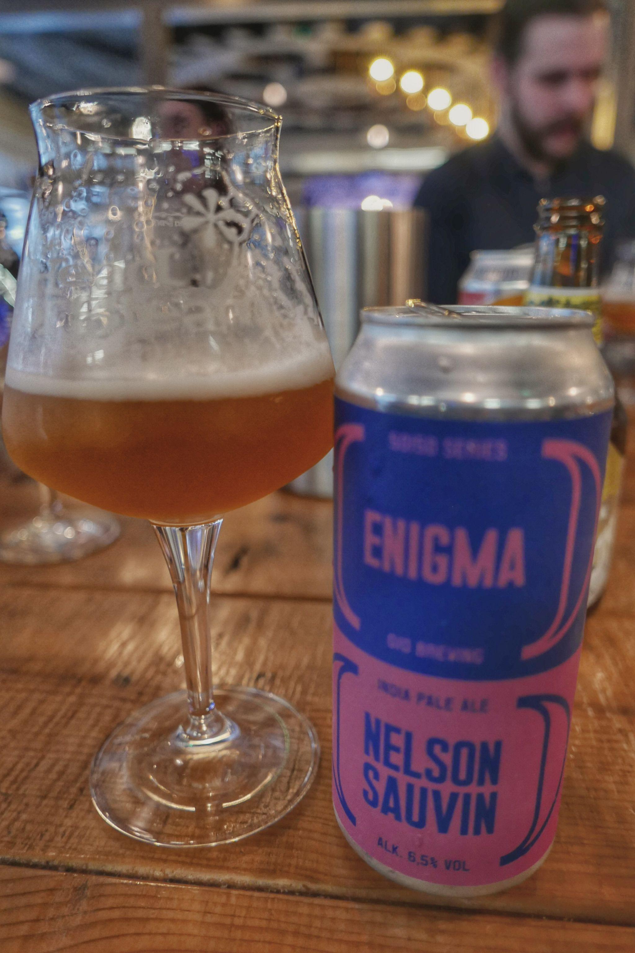 00 Brewing's Enigma/Nelson Sauvin